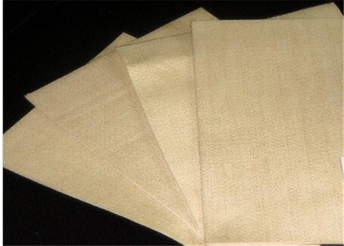 High Temperature Woven Filter Cloth , 1.9mm Thickness Pps Needle Felt