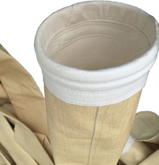 Needle Punched Aramid Nomex Filter Bags High Temperature Grade For Cement Mill