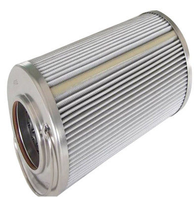 High Temperature Precision Cartridge Filter Elements Folding Glassfiber Mesh