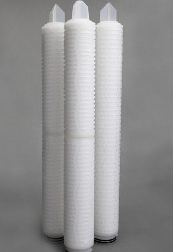 1.0um PVDF Filter Cartridge For Solvent Filtration And Bacterial Removal